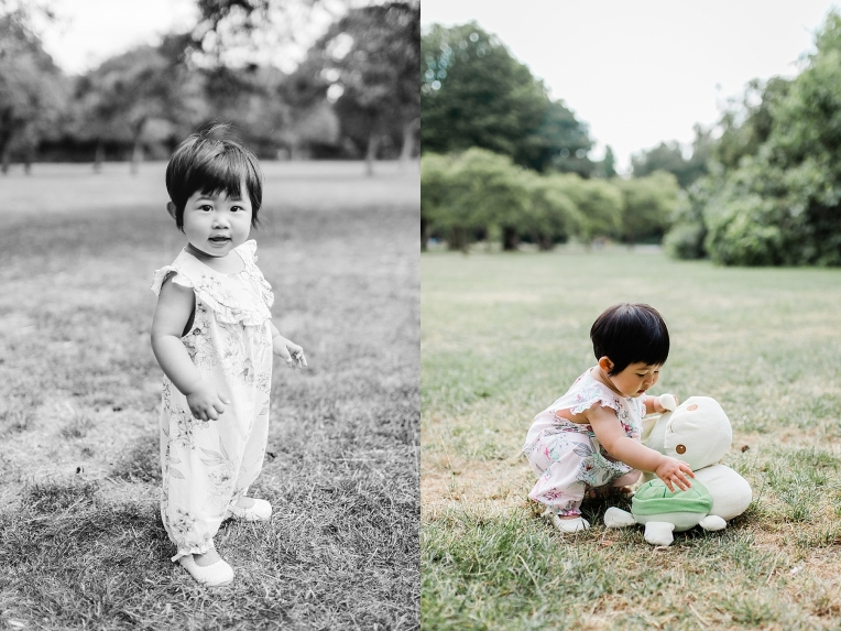 A First Birthday Baby Photography Session in Florence Park Oxford 10-1