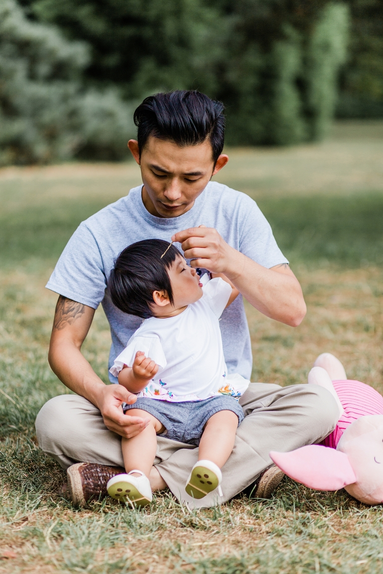 A First Birthday Baby Photography Session in Florence Park Oxford 35