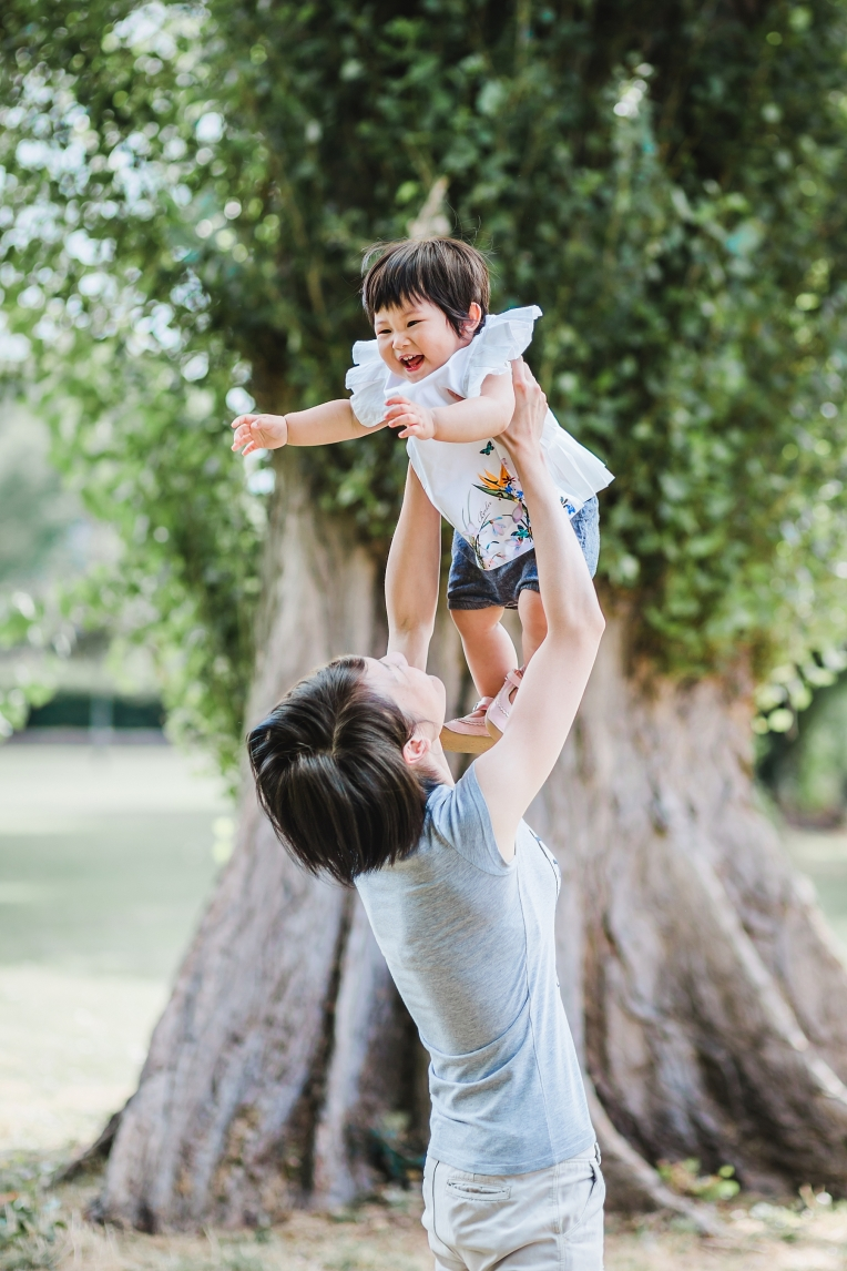 A First Birthday Baby Photography Session in Florence Park Oxford 86